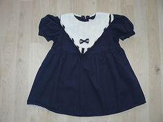 Kleid-Signe-Incognito-Gr-80-dunkelblau-Puppenkleid-Puppen-Kuenstlerpuppen