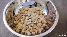 메이플 프랄린 스낵 믹스 만들기