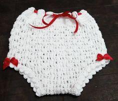 """Calcinha [ """"Croche pro Drink: Little dresses found the n Crochet Spring Dresses, Crochet Dress Girl, Baby Girl Crochet, Crochet Baby Clothes, Newborn Crochet, Crochet For Kids, Crochet Bikini, Knit Crochet, Crochet Hats"""