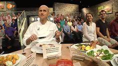 """Quittenhähnchen mit Artischocken! Der zweite Blick für den Juror Ralf Zacherl: """"abgefahren""""! I Am Awesome, Food, Artichokes, Meal, Eten, Meals"""