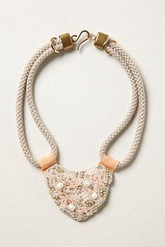 Beaded Tonala Bib #anthropologie - personally, I like the green one on the anthropologie website.