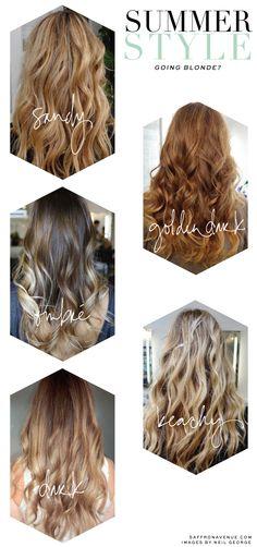 Summer Style :: Going Blonde - Saffron Avenue