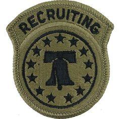 U.S. Army Recruiting Command (USAREC) MultiCam (OCP) Patch