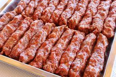 Kebab Recipes, My Recipes, Cooking Recipes, Favorite Recipes, Romanian Food, Always Hungry, Pasta, Sausage Recipes, Saveur
