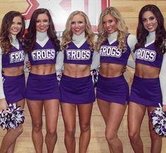 Cheerleader panties tcu