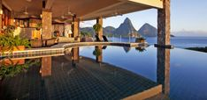 You may have enjoyed looking through the 100 Most Beautiful Places In The World, and the overwhelmingly positive reactions I've gotten from that post have encouraged me to create this list of the 100 most amazing, unique, and beautiful hotels in the world. Also see the 100 Most Beautiful Places in the World and the … Luxury Luggage, Caribbean Honeymoon, Honeymoon Tips, Caribbean Vacations, Beautiful Hotels, Beautiful Places In The World, Fantasy Hotel, Jade Mountain St Lucia, Vacation Destinations