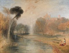 Unknown artist, 19th century, Schloss Rosenau, Coburg, 1841 to 1844, Oil on canvas, Yale Center for British Art, Paul Mellon Collection. cropped to image, recto, unframed