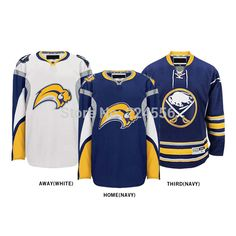 5fbc5f6f4 Aliexpress.com   Buy Custom Buffalo Sabers jersey nhl hockey jerseys  Home Away Alternate Jersey Embroidery Logo Sew on Any Name   Number YS 6XL  from ...