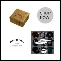 Shop the UFO MYSTERY BOX with 5 items for £100  all our pieces are unisex www.houseoftreli.com