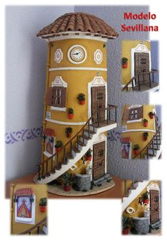 TEJAS DECORADAS EN RELIEVE: MODELO SEVILLANA
