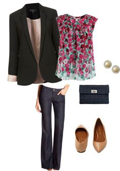 Business Casual by badocherty on Polyvore. I really want this outfit specially the top!!