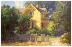 Kathryn Stats: I love yellow houses! Note by Roger Carrier (PS: I live in a brown house.)