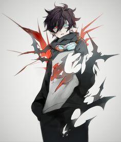 Kekkai Sensen (Blood Blockade Battlefront) Plus Leonardo watch Manga Boy, Manga Anime, Anime Style, Fantasy Characters, Anime Characters, Character Art, Character Design, Blood Blockade Battlefront, Animes Yandere