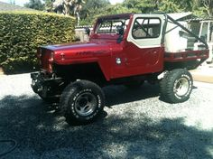 Jeep YJ custom tub, bed, cage and Jeep Wrangler Yj, Trailers For Sale, Black Labs, Jeep Life, Lifted Trucks, Jeeps, Offroad, Cage, 4x4