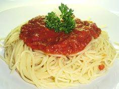 Les délices de Maya: Sauce à spaghetti à la viande