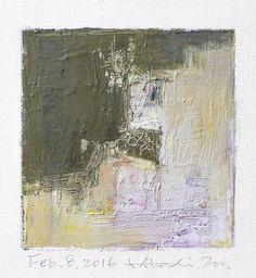 https://flic.kr/p/DtA29h | feb082016 | Oil on canvas  9 cm x 9 cm  © 2016 Hiroshi Matsumoto www.hiroshimatsumoto.com