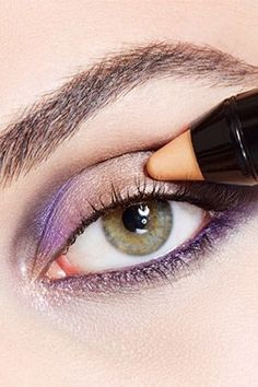 Eyeshadow, Eye Makeup Inspiration, Tips & Tutorials by Maybelline. Bold colors, neutrals and shimmering glitter eyeshadow for long-lasting eye makeup looks. #glittereyeshadows