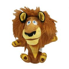 Stuffed Plush Lion Style Doll Decoration Toy Gift,Size:22x15x13cm