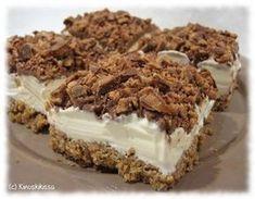 Jäätelöleivokset | Reseptit | Kinuskikissa Sweet Recipes, Cake Recipes, Dessert Recipes, Finnish Recipes, Sweet Bakery, Icebox Cake, Ice Cream Recipes, Let Them Eat Cake, Yummy Cakes