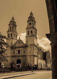 Catedral Campeche II -