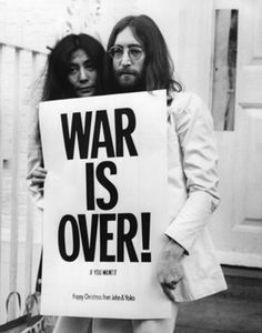 Happy Christmas  - War is over
