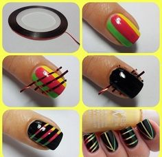 12 Epic DIY Nail Art