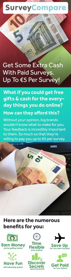 Get Money From Home With Paid Surveys the average survey pays taking 5 surveys a day, 5 days a week gives Find out more by clicking on the image. Legit Paid Surveys, Get Paid For Surveys, Online Surveys For Money, Surveys For Cash, Earn Money Online, Online Jobs, Make Money Today, Ways To Earn Money, Way To Make Money
