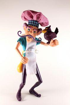 Strawberry Shortcake - Purple Pie Man with Captain Cackle