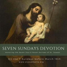 Seven Sundays Devotion to St. Joseph | St. Josemaria Institute