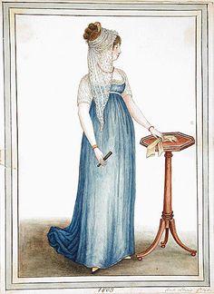 Jane Austen Clothing   Regency Dress. Jane Austen Gown. CUSTOM MADE. Reserved for ERIN