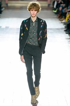Paul Smithshowed hisFall/Winter 2017 collectionduring Paris Fashion Week.