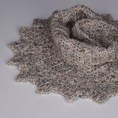 Ravelry: Almost Vintage pattern by Michelle Johnson-Masters Aran Weight Yarn, Small Scarf, Pattern Library, Diy Fashion, Ravelry, Knit Crochet, Crochet Patterns, Knitting, Fall