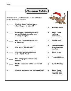 Easy Christmas Riddles With Answers Christmas Riddles For Kids, Christmas Jokes, Christmas Activities, Christmas Printables, Christmas Maths, Christmas Countdown, Fun Riddles With Answers, Jokes And Riddles, Holiday Party Games