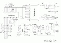 Осциллограф на микроконтроллере ATMEGA32А Diagram