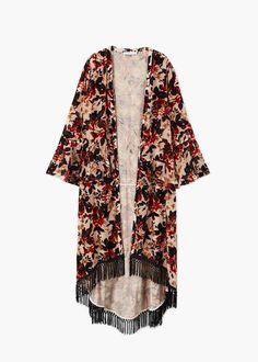 faa5dbdd67 Las 17 mejores imágenes de Kimonos | Feminine fashion, Jackets y ...
