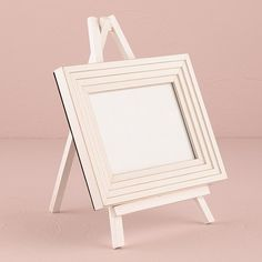 White Wooden Easels - Large - The Knot Shop