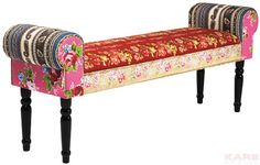 Bench Wing Patchwork Red Adult