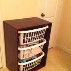 Laundry organizer made by Robert!