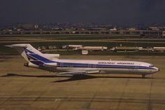 Aerolineas Argentinas Boeing 727-287; LV-OLR, April 1994/BCL by Aero Icarus, via Flickr