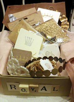 Royal Theme Wrapping Box