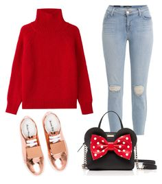 """""""jeans"""" by lolaa20 on Polyvore featuring J Brand, Vanessa Bruno, Acne Studios and Kate Spade"""
