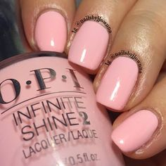 Too cute! These pink pastels by Jonna are surely a must-try. Snag the perfect shade she used from her free OPI #InfiniteShine package - exclusively for our PreenMe VIPs.