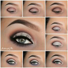 Perfect cut crease makeup #tutorial #maquiagem #evatornadoblog Вечерний макияж