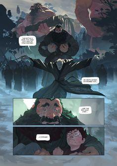 Harry Potter - comic pages, Nesskain hks on ArtStation at https://www.artstation.com/artwork/W6yJv