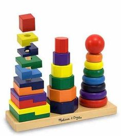 Geometric Stacker Toddler Toy. Best Educational 42 Toys for 2 Year Olds images | Baby Toys, Cool toys