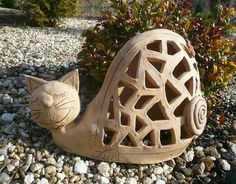 kočka - keramika