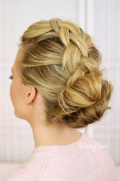 Best Ideas HairStyles    :    Dutch Braid and Double Bun   https://greatmag.net/beauty/hair-style/best-ideas-hairstyles-dutch-braid-and-double-bun/