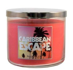 Bath and Body Works Slatkin & Co. CARIBBEAN ESCAPE Scented Candle 14.5 OZ Bath & Body Works http://www.amazon.com/dp/B0070R3G8O/ref=cm_sw_r_pi_dp_Dk4aub18VZAD7