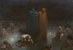 Gustave Doré. Dante. Dante et Virgile.