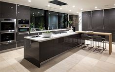 If you want a luxury kitchen, you probably have a good idea of what you need. A luxury kitchen remodel […] Luxury Kitchen Design, Best Kitchen Designs, Luxury Kitchens, Interior Design Kitchen, Home Kitchens, Diy Interior, Luxury Interior, Modern Interior, Modern Kitchen Cabinets